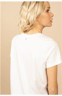 T-Shirt T-Shirt FEELGOOD Femme S21143W (60072) - DEELUXE