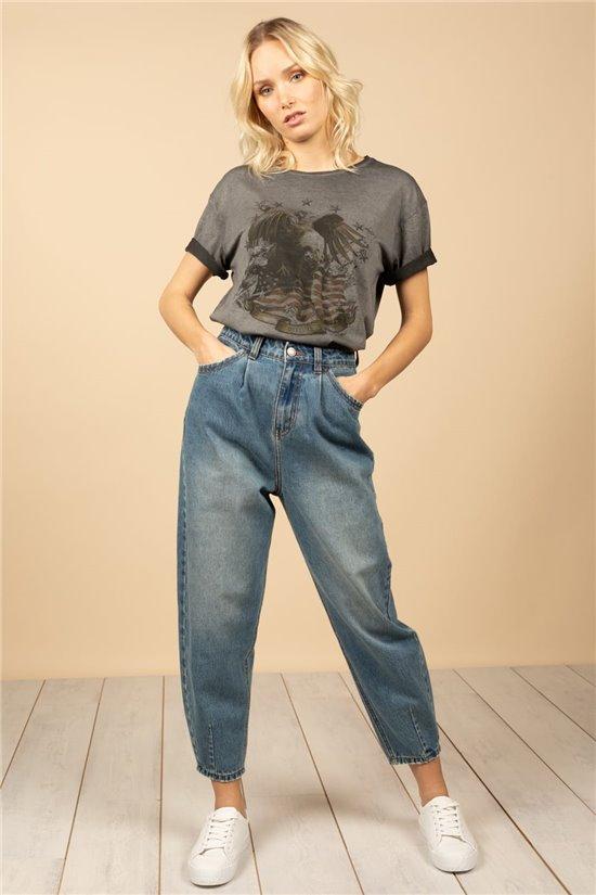 T-Shirt T-Shirt BIRD Femme S21157W (60094) - DEELUXE
