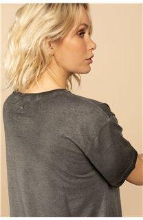 T-Shirt T-Shirt BIRD Femme S21157W (60097) - DEELUXE