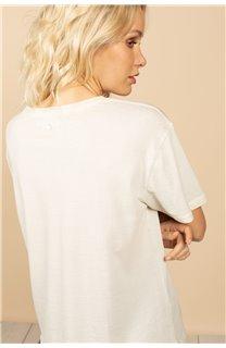 T-Shirt T-Shirt BIRD Femme S21157W (60102) - DEELUXE