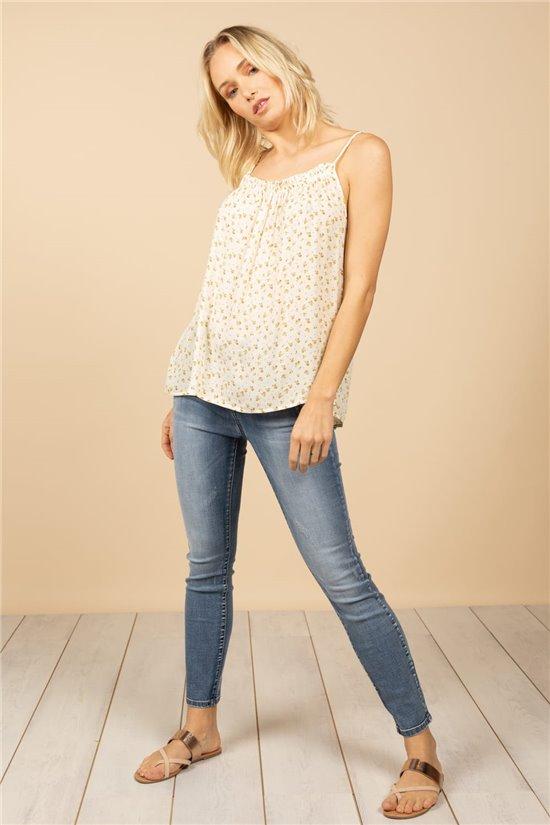 T-Shirt Top LANDRYNE Femme S21170W (60104) - DEELUXE