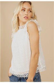 Blouse Blouse LADY Femme S21425W (60127) - DEELUXE