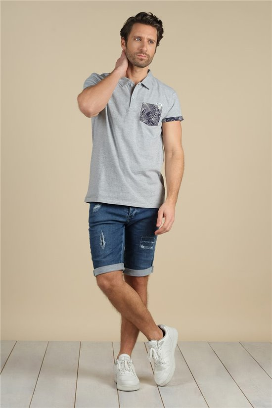 Polo Polo SHAM Homme S21208M (60244) - DEELUXE