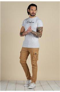 Pantalon Pantalon TANZA Homme S217007M (60393) - DEELUXE