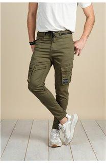Pantalon Pantalon WILLY Homme S217009M (60432) - DEELUXE