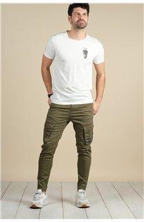 Pantalon Pantalon WILLY Homme S217009M (60433) - DEELUXE