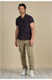 Pantalon Pantalon TROPERY Homme S217012M (60438) - DEELUXE