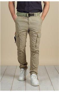 Pantalon Pantalon TROPERY Homme S217012M (60439) - DEELUXE