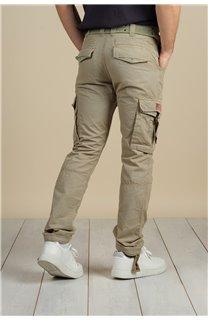 Pantalon Pantalon TROPERY Homme S217012M (60440) - DEELUXE