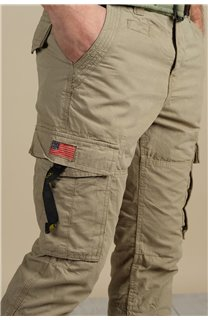 Pantalon Pantalon TROPERY Homme S217012M (60441) - DEELUXE