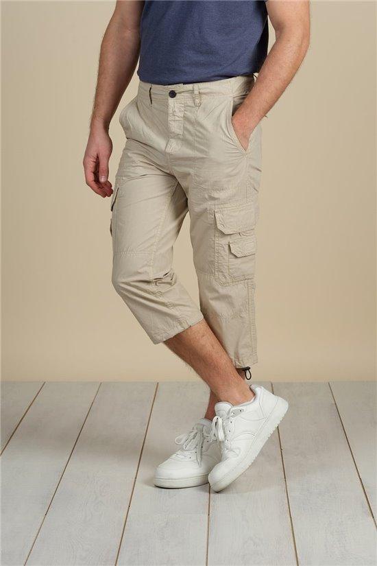 Pantalon Pantacourt RIVER Homme S21741M (60452) - DEELUXE