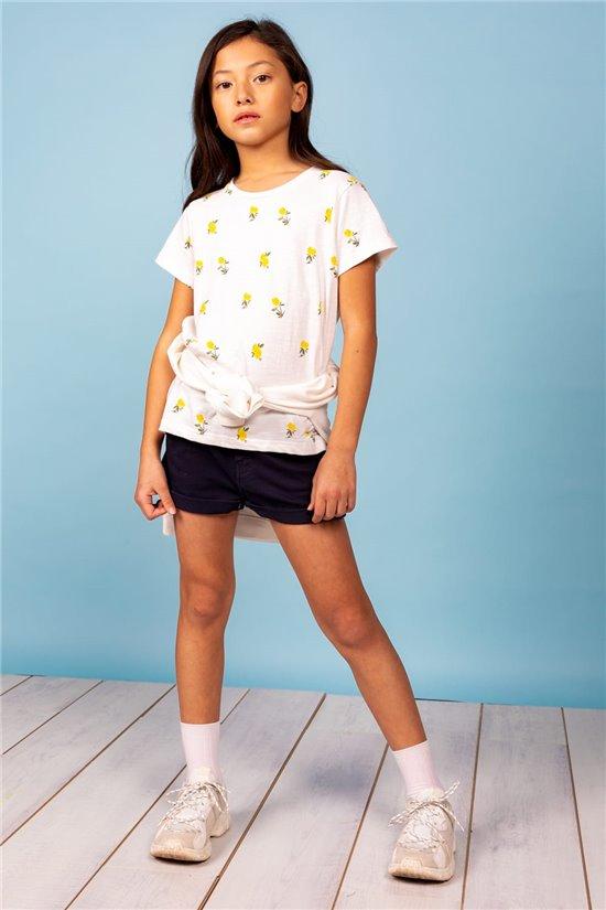 T-Shirt T-Shirt NADY Fille S21108G (60521) - DEELUXE