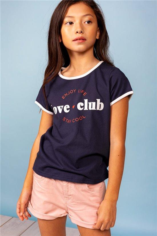 T-Shirt T-Shirt LOVECLUB Fille S21145G (60536) - DEELUXE