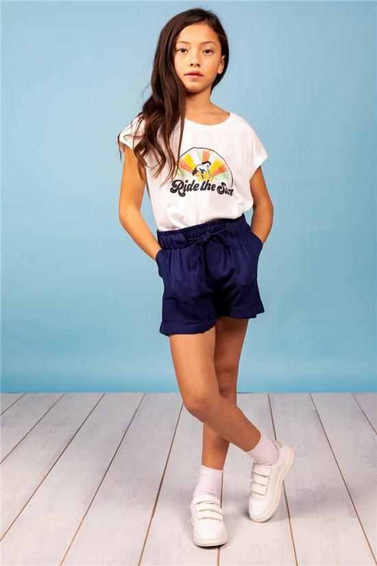 T-Shirt T-Shirt RIDES Fille S21149G (60554) - DEELUXE