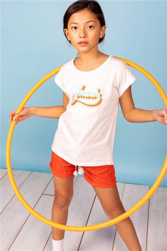 T-Shirt T-Shirt AMOUR Fille S21150G (60559) - DEELUXE
