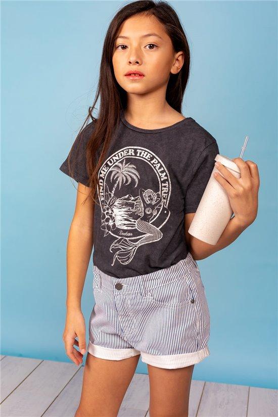 T-Shirt T-Shirt SIREN Fille S21151G (60563) - DEELUXE