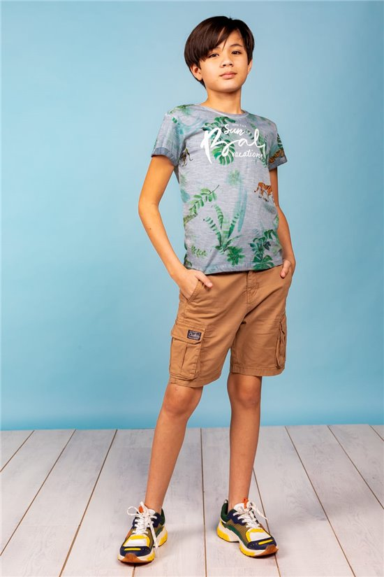 T-Shirt T-Shirt BALI Garçon S21108B (60696) - DEELUXE