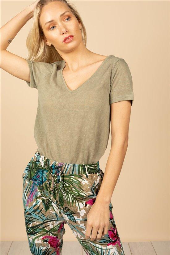 T-Shirt T-Shirt HAZEL Femme S21103W (60783) - DEELUXE