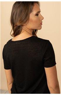 T-Shirt T-Shirt HAYDEN Femme S21104W (60799) - DEELUXE