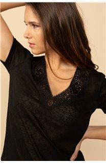 T-Shirt T-Shirt HAYDEN Femme S21104W (60800) - DEELUXE