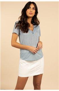 T-Shirt T-Shirt HAYDEN Femme S21104W (60801) - DEELUXE