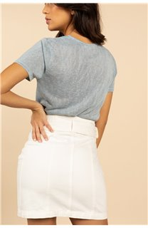 T-Shirt T-Shirt HAYDEN Femme S21104W (60804) - DEELUXE