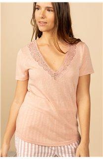 T-Shirt T-Shirt HAYDEN Femme S21104W (60805) - DEELUXE