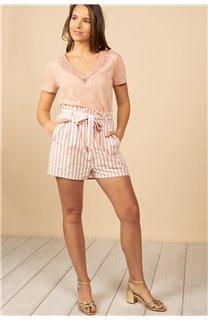 T-Shirt T-Shirt HAYDEN Femme S21104W (60806) - DEELUXE