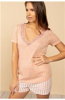 T-Shirt T-Shirt HAYDEN Femme S21104W (60807) - DEELUXE