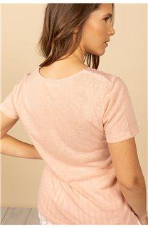 T-Shirt T-Shirt HAYDEN Femme S21104W (60808) - DEELUXE