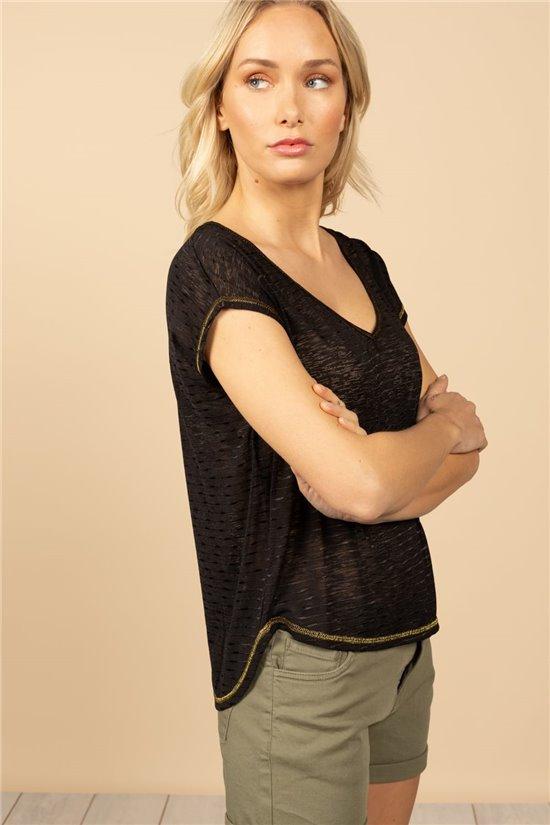 T-Shirt T-Shirt CINDY Femme S21109W (60815) - DEELUXE