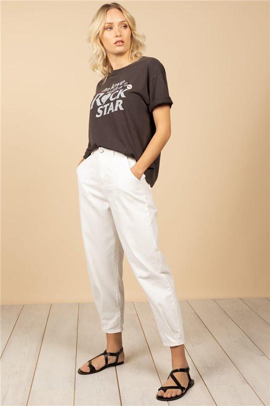 T-Shirt T-Shirt ROCKSTAR Femme S21152W (60909) - DEELUXE