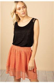 T-Shirt Top SALLY Femme S21162W (60914) - DEELUXE