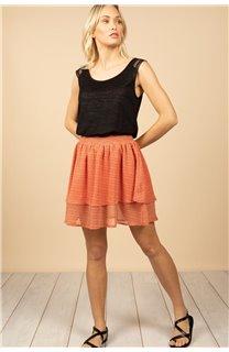 T-Shirt Top SALLY Femme S21162W (60915) - DEELUXE
