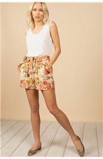 T-Shirt Top SALLY Femme S21162W (60925) - DEELUXE