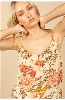 T-Shirt Top MONICA Femme S21163W (60929) - DEELUXE