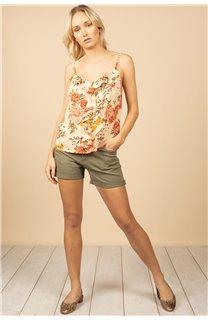 T-Shirt Top MONICA Femme S21163W (60930) - DEELUXE
