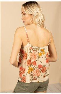 T-Shirt Top MONICA Femme S21163W (60932) - DEELUXE