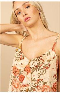 T-Shirt Top MONICA Femme S21163W (60933) - DEELUXE
