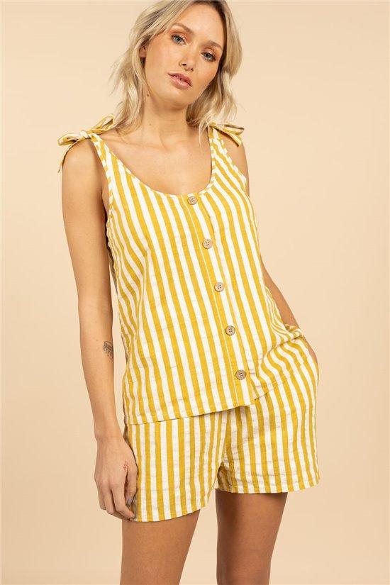 T-Shirt Top DALHIA Femme S21167W (60954) - DEELUXE