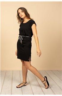 Robe Robe TIME Femme S21212W (61028) - DEELUXE