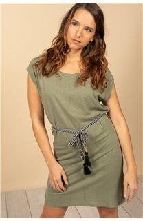 Robe Robe TIME Femme S21212W (61031) - DEELUXE