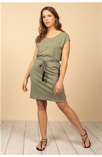 Robe Robe TIME Femme S21212W (61032) - DEELUXE