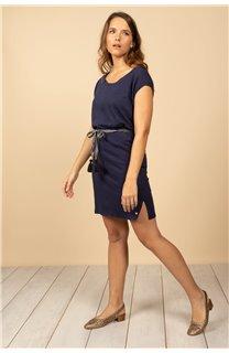 Robe Robe TIME Femme S21212W (61036) - DEELUXE