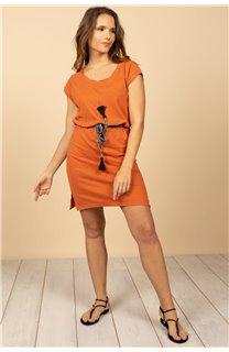 Robe Robe TIME Femme S21212W (61042) - DEELUXE