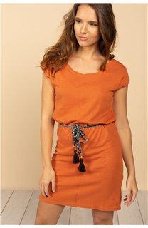 Robe Robe TIME Femme S21212W (61043) - DEELUXE