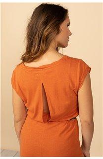 Robe Robe TIME Femme S21212W (61044) - DEELUXE