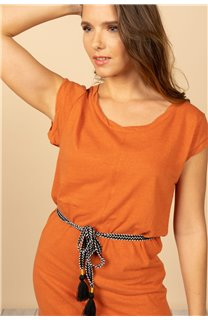 Robe Robe TIME Femme S21212W (61045) - DEELUXE