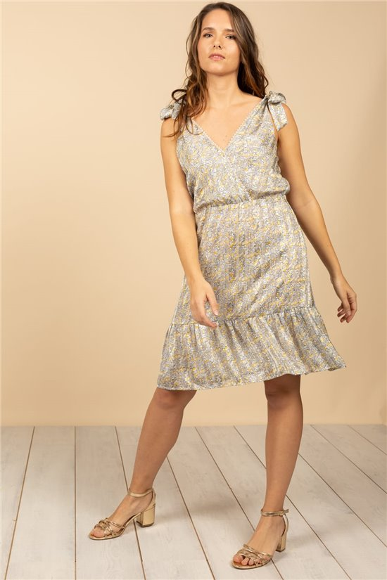 Robe Robe JADE Femme S21216W (61046) - DEELUXE