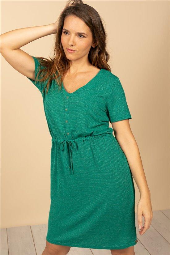 Robe Robe ALINA Femme S21222W (61076) - DEELUXE